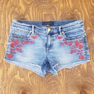Juicy Couture Embroidery shorts